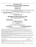 Nicholas Financial - 2013 Form 10K